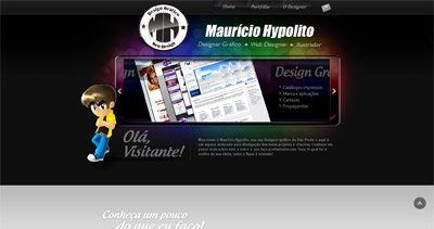Mauricio Hypolito Website Screenshot
