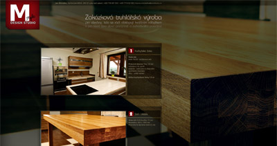Jan Michálka Website Screenshot
