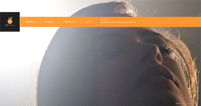 Orange 021 Website Screenshot