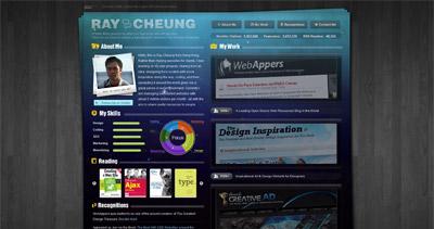Ray Cheung Website Screenshot