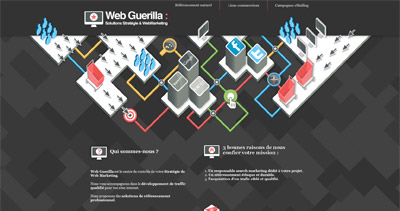 Web Guerilla Website Screenshot