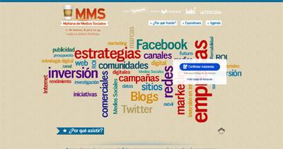 Mañana de Medios Sociales Website Screenshot