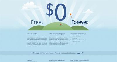 Zero Dollar Tools Website Screenshot