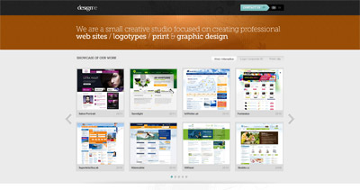 designme Website Screenshot
