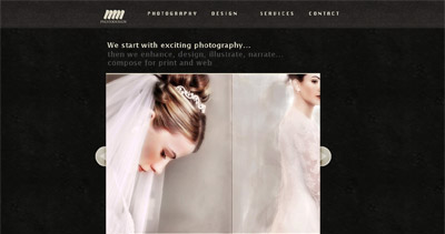mm photodesign Website Screenshot