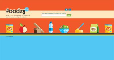 Foodzy Website Screenshot