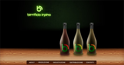 Birrificio Irpino Website Screenshot