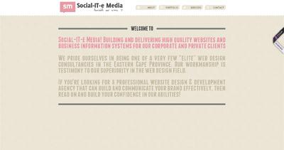 Social-IT-e Media Website Screenshot
