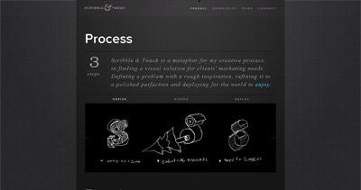 Scribble & Tweak Website Screenshot