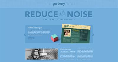Jeremy Church Website Screenshot