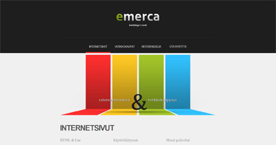 Emerca Website Screenshot