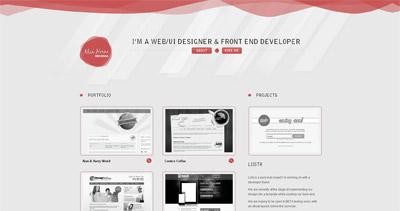 Alan Horne Website Screenshot