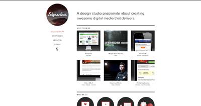 Skysoclear Website Screenshot