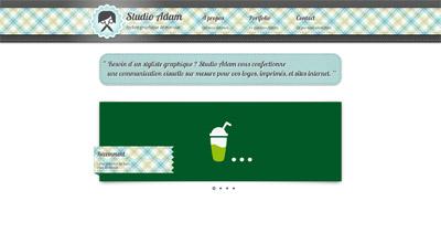 Studio Adam Website Screenshot