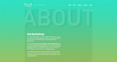 HyperboleDesign Website Screenshot