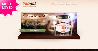 Pub Aid Website Screenshot