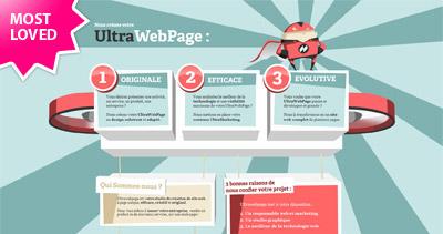 UltraWebPage Website Screenshot