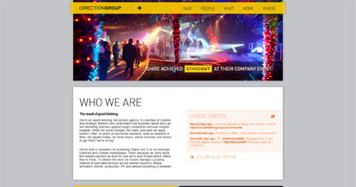DirectionGroup Website Screenshot