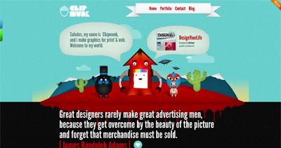 Made by Chipmunk Website Screenshot