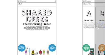 SharedDesks Website Screenshot