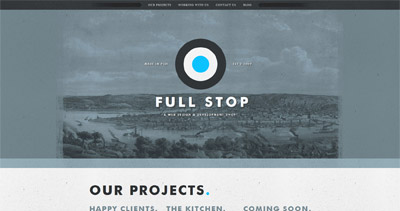 Full Stop Website Screenshot