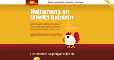 Kultamuna Website Screenshot