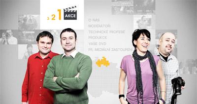 321 Akce! Website Screenshot