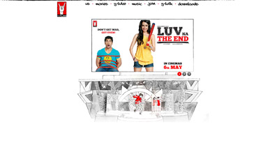 Y Films Website Screenshot