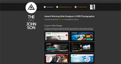 Patrick Johnson Website Screenshot