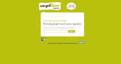 we get there Website Screenshot