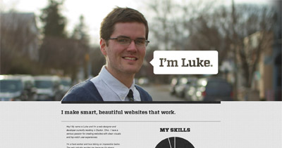 Luke Askew Website Screenshot