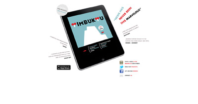 Timbuktu Magazine Website Screenshot