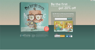 Designer Children's Books Website Screenshot