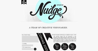 Studio Nudge Website Screenshot