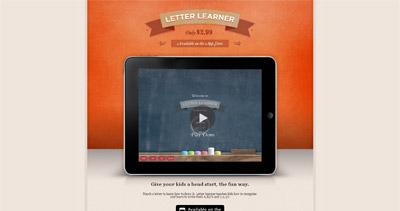 Letter Learner Website Screenshot