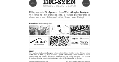 Dic-Syen Website Screenshot