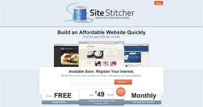 Site Stitcher Website Screenshot