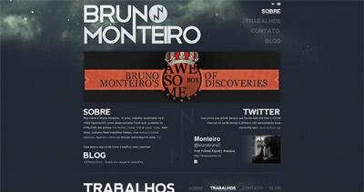 Bruno Monteiro Website Screenshot