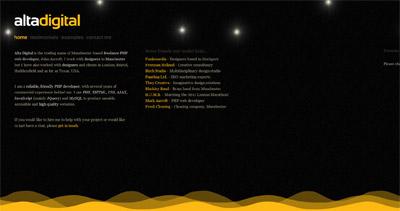 Alta Digital Website Screenshot