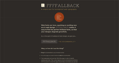 FFFFALLBACK Website Screenshot