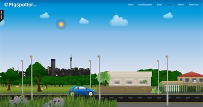 Pigspotter Website Screenshot