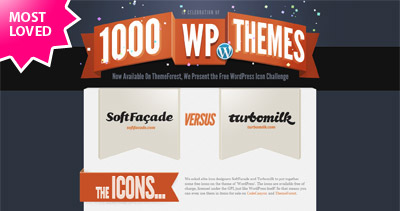 1000 WP Themes Website Screenshot