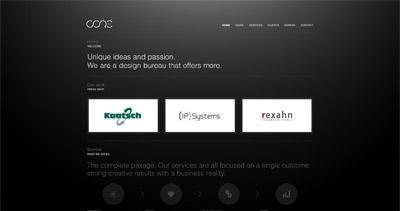 Core Website Screenshot