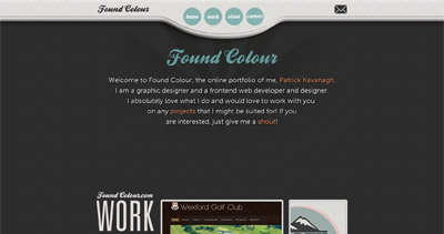 Found Colour Website Screenshot