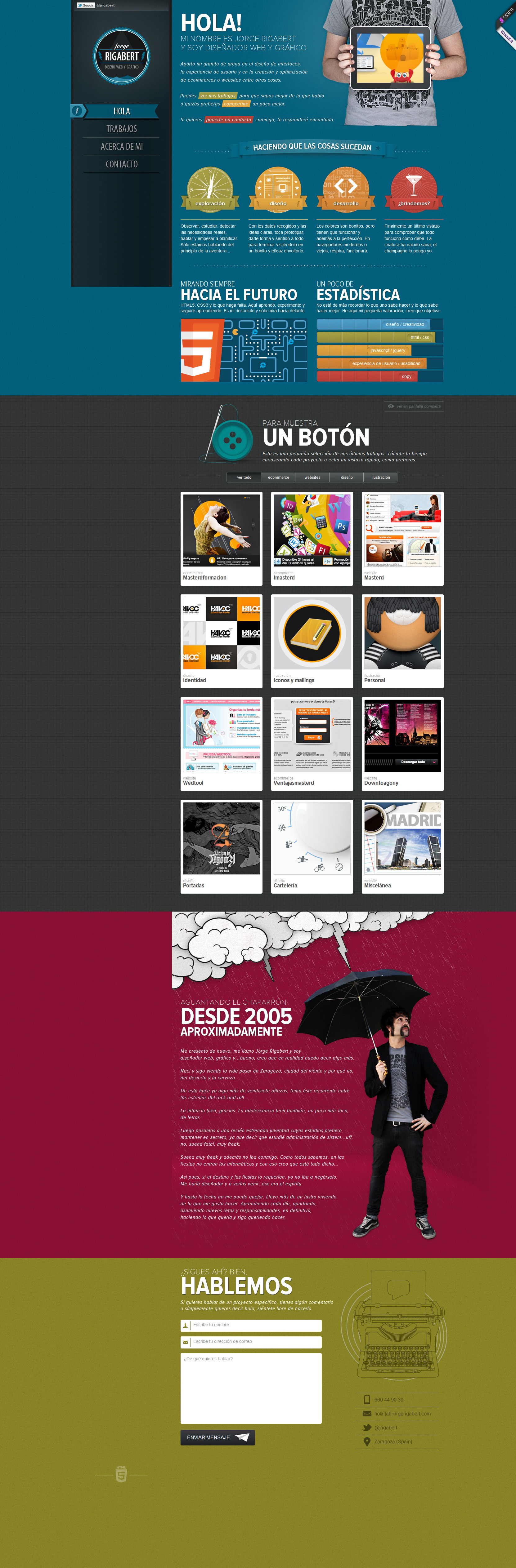 Diseño Website Screenshot