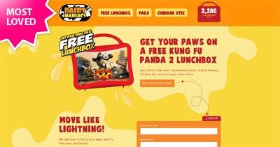Free Kung Fu Panda 2 Lunchbox Thumbnail Preview