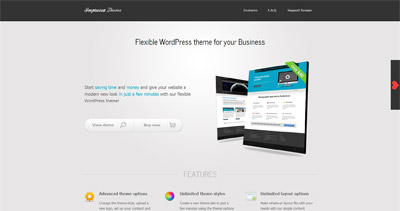 Impressa theme Website Screenshot