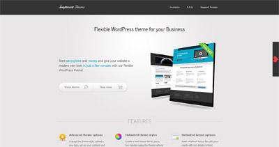 Impressa theme Website Screenshot