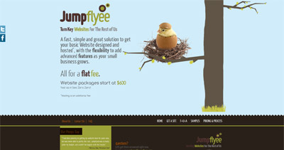 Jumpflyee Website Screenshot