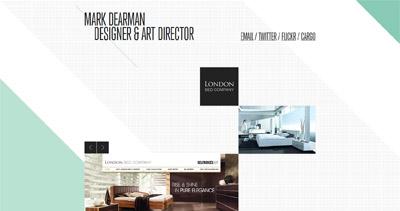 Mark Dearman Website Screenshot